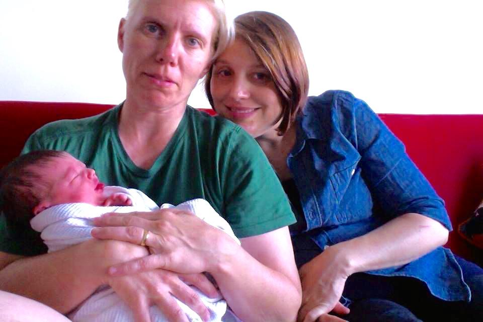 lesbian parents baby